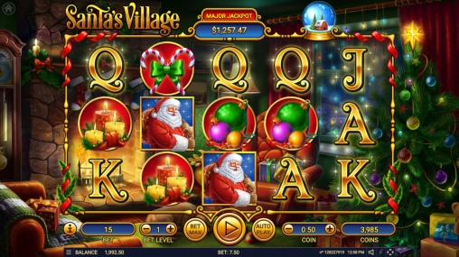 Santa's Village slot machine