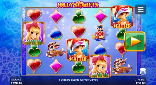 Jolly's Gifts slot machine