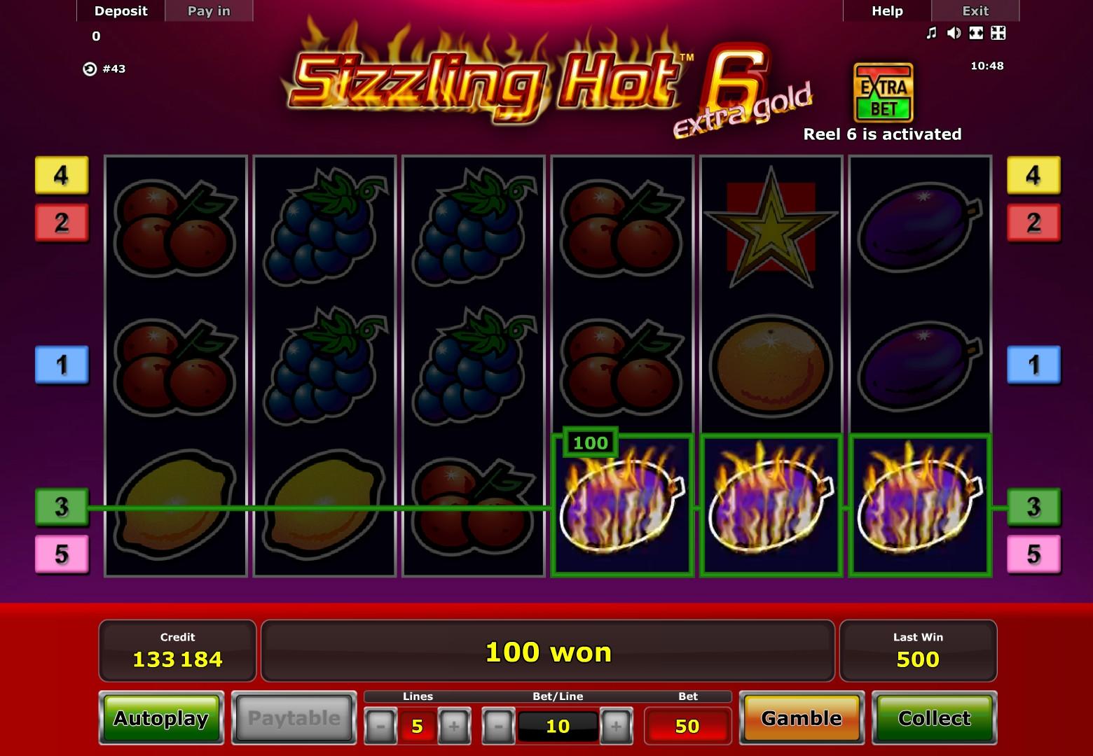 Sizzling Gold V4.2 Online
