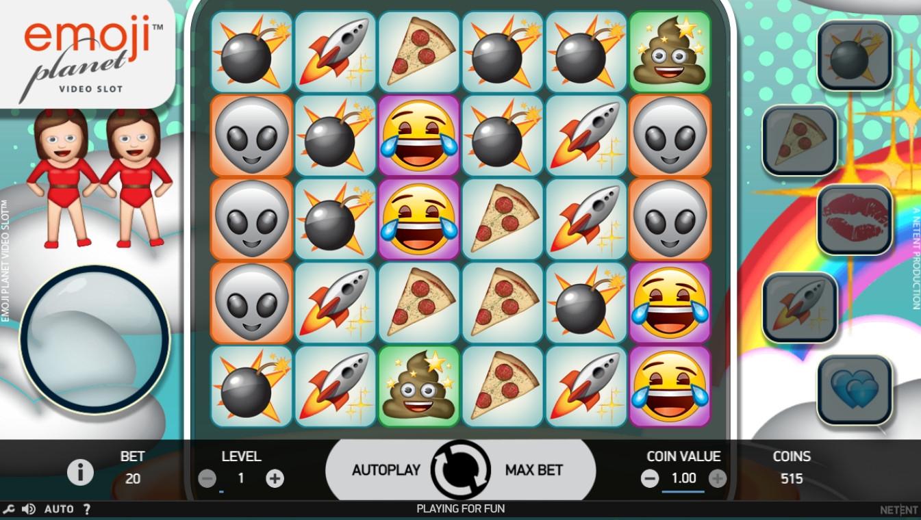 Emoji Planet Slot Machine