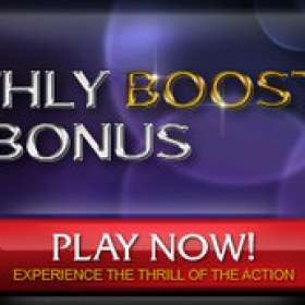 Monthly Boost at Club Gold Casino