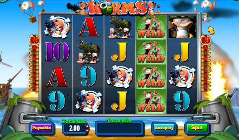 Worms Slots