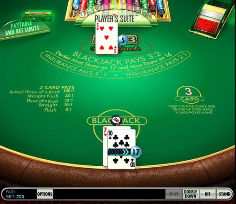 21 3 Blackjack