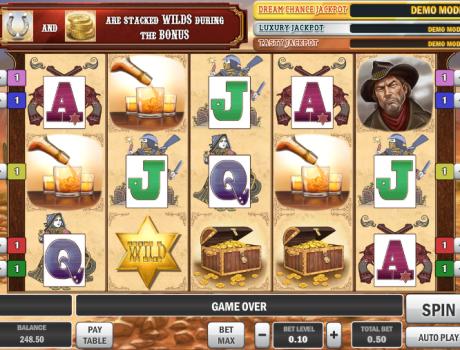 Play The Cowboy Treasure Slot Machine Free