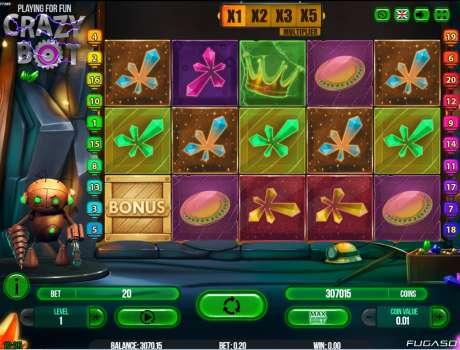 Crazy bot slot machine online fugaso lar?arcade jackpots