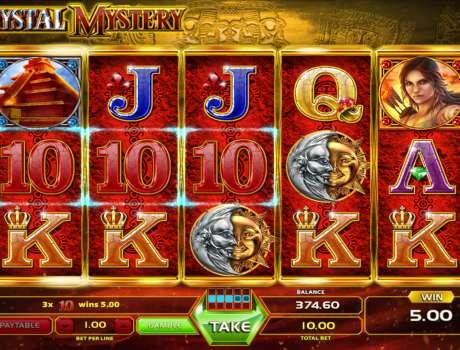 Crystal mystery gameart slot game Kahta