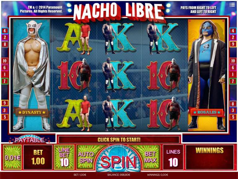 Try the No Download Nacho Libre Slots Today