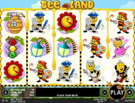 Mar 24, · Bee Land Gaming Format and Theme.Bee Land is a 5 reel game, like most Pragmatic Play powered games.The slot machine has generous 20 wager lines that can help players claim plenty of rewards.The control panel is located underneath the reels where players can spin the reels, place the bet, use the auto play function and more.Tokat