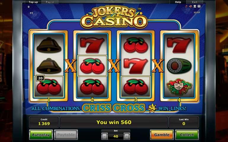 Jokers Casino Slot Machine
