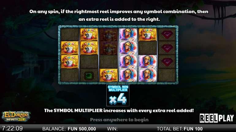 Spiele El Dorado Infinity Reels - Video Slots Online