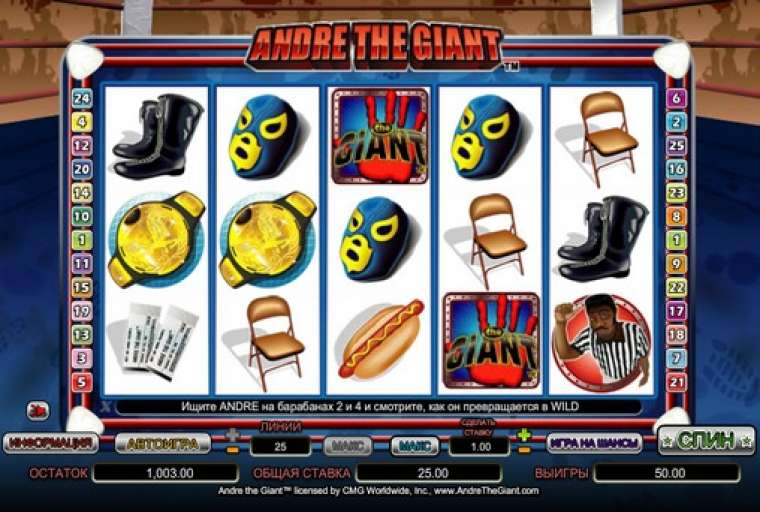 Andre the giant nextgen gaming slot game game strategy