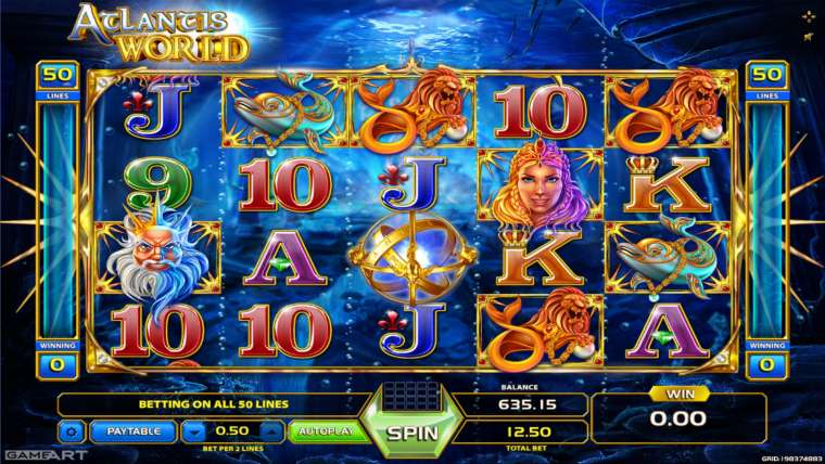 Play Atlantis World slots by GameArt Online ⭐ Real Money Atlantis World or FREE Demo ⭐ Best Gambling Games 🎲 Quick Cashouts 💰 Bonuses and Promotions 🎁 —