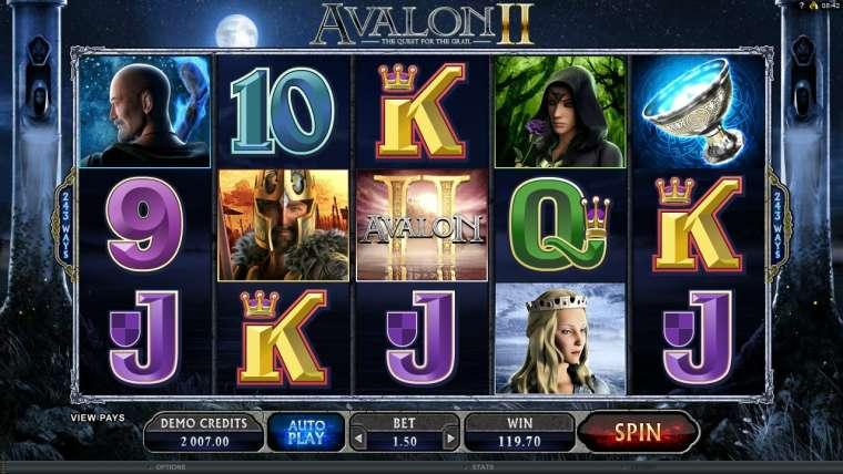 Avalon II Slot Machine