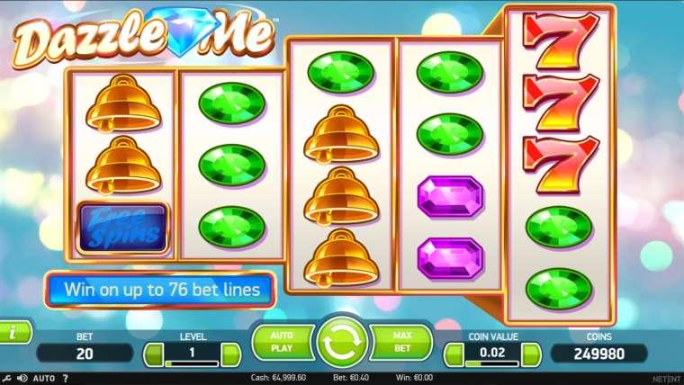 Dazzle me slot machine online netent Araban