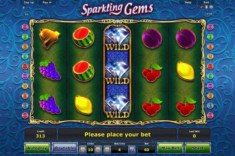 Spiele Sparkling Gems - Video Slots Online