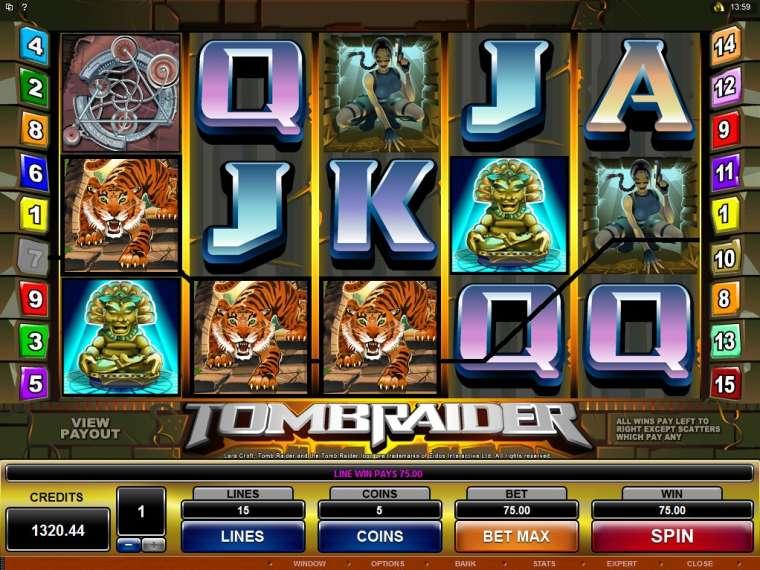 Tomb Raider Slot Free Play