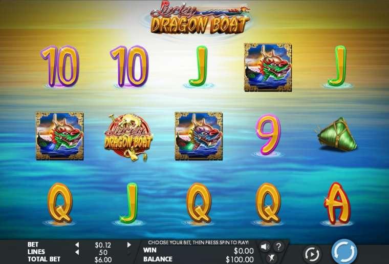 Lucky Dragon Boat Slot Machine