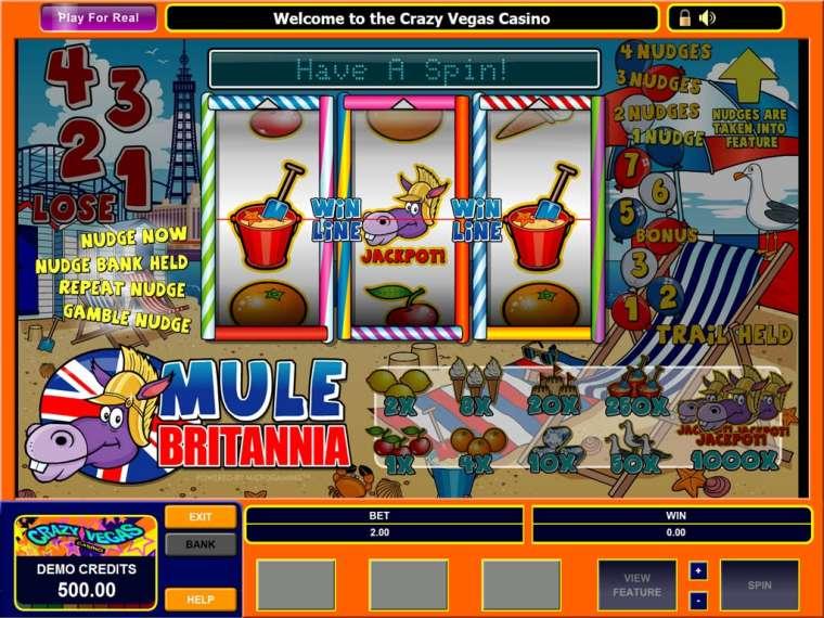 Britania Slot Machine