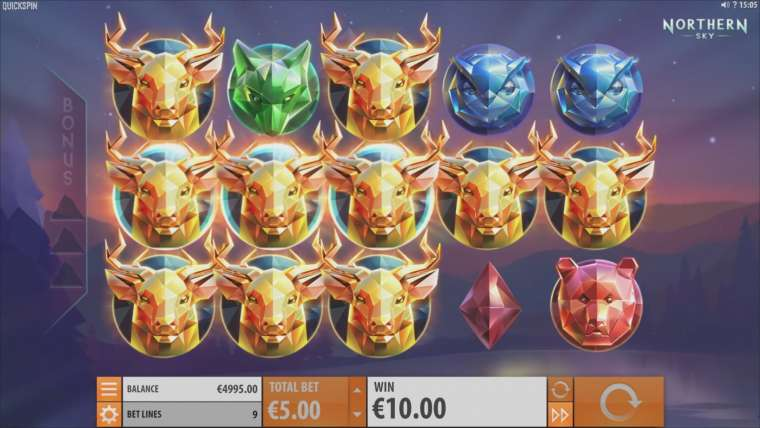 Quickspin Casinos Will Soon Release New Northen Sky Slot