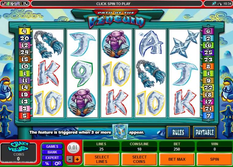 Penguin Casino Game