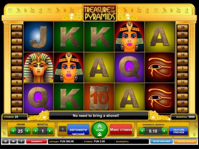 Play Treasure of the Pyramids No Download Slots