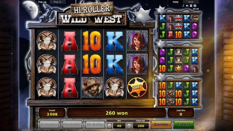 Wild West Hi-Roller Slot Machine