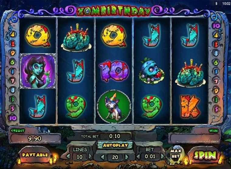 Zombirthday Slot Machine