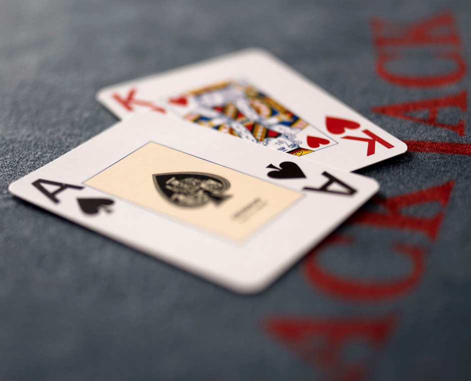 ace and king cards