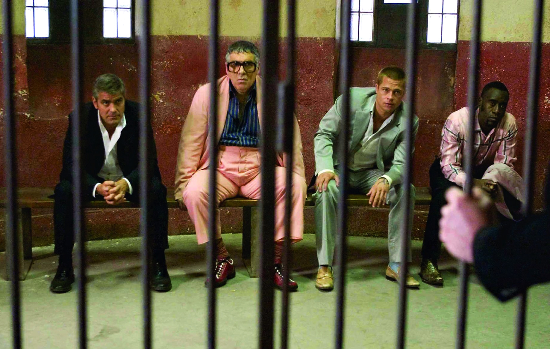 Ocean�s Eleven Friends Are Behind Bars