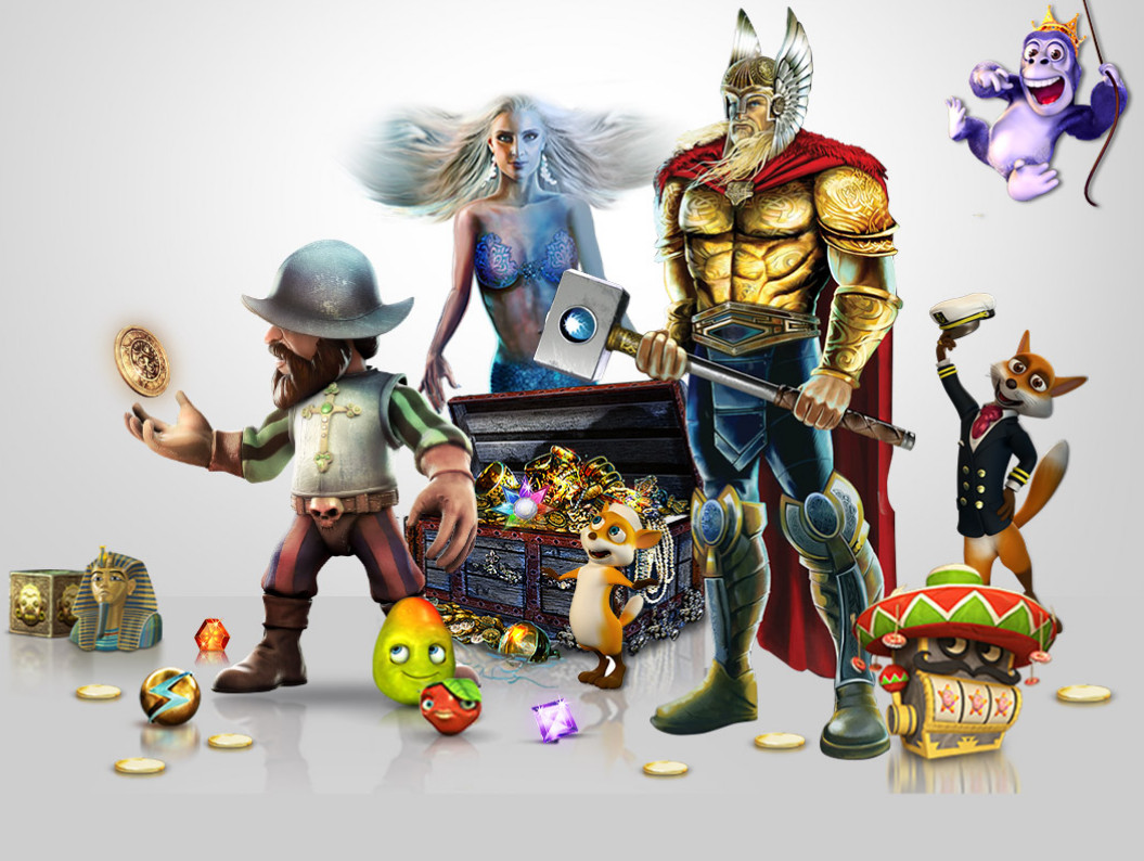 Characters of NetEnt Video Slots