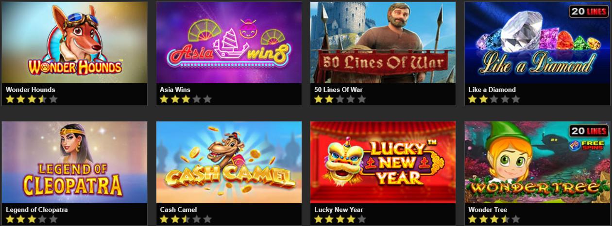 Popular slot machines