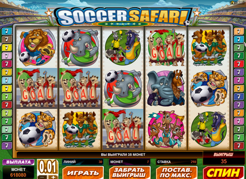 Spiele Soccer Safari - Video Slots Online